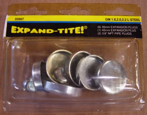 expansion plug kits