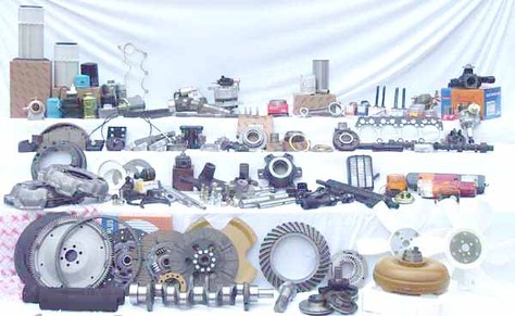 Supply all kinds of forklift parts