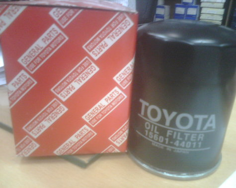 Oil Filters for Toyota