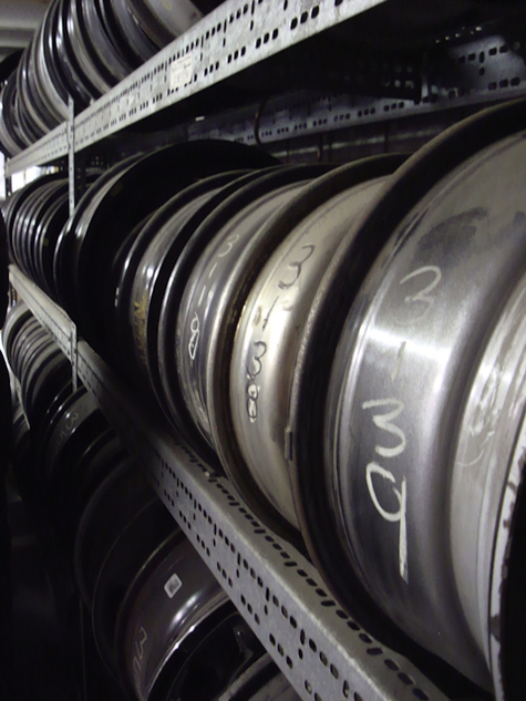 OEM steel wheels inventory clearance