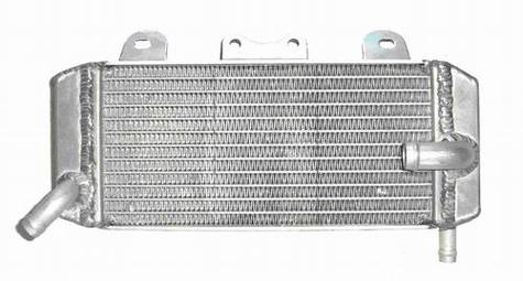 performance motorcycle aluminum radiator for racing bike