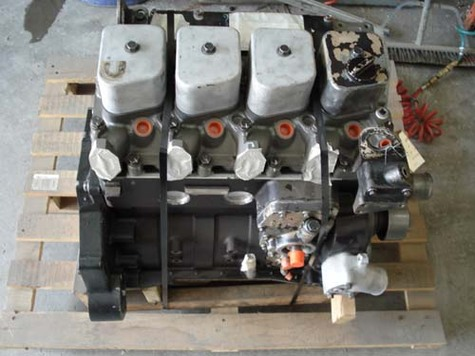 Cummins 3.9L - 4BT - Rebuilt Engine