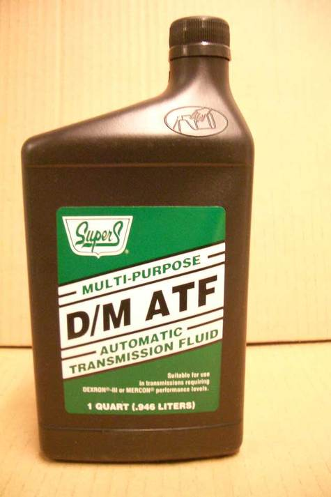 Supers ATF Multi Purpose Automatic Transmission Fluid