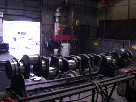 Caterpillar 3516 Crankshaft