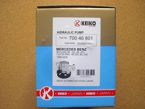 HIDRAULIC PUMP MERCEDES-BENZ 1/BOX