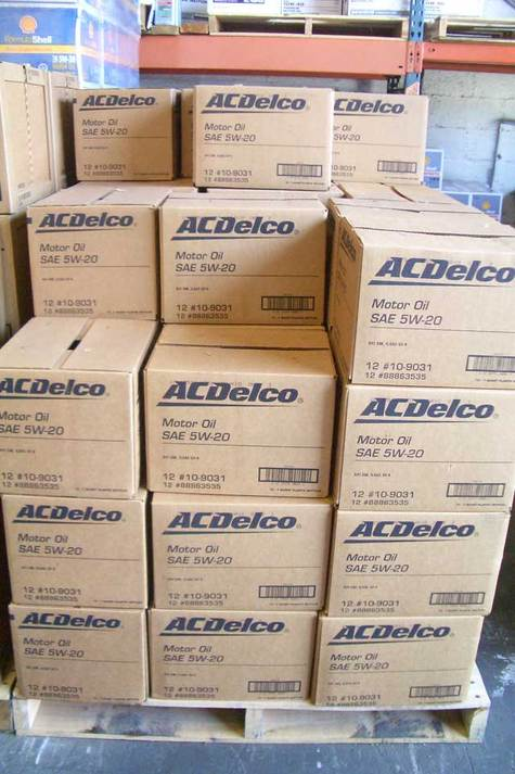 ACDelco Motor Oil 5w20 part # 10-9031 in Quarts