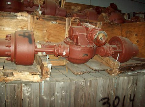 extra nice 5 ton axle assy air brake