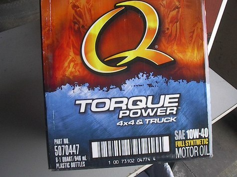 Quaker State 10W40 Fully Synthetic Motor oil 6/1QT