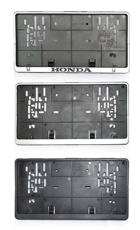 License Plate frame european style