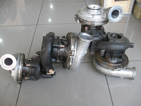 MAN TGL turbo chargers
