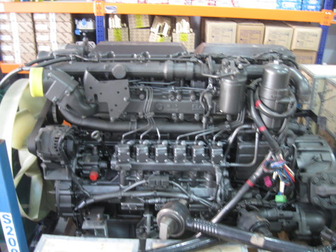 DAF XF EURO-3 complete new engine
