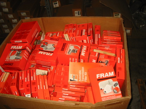 FRAM FILTERS Mixed Inventory of 509 Units Buy Now for $1,000.00