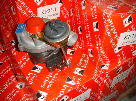 TURBOCHARGER KP35-1 5435 970 0000