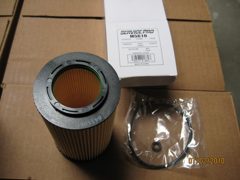 Cartridge OIL FILTERS Inventory