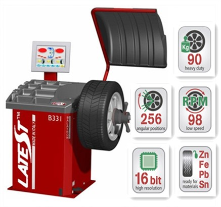 B331 Digital Wheel Balancer