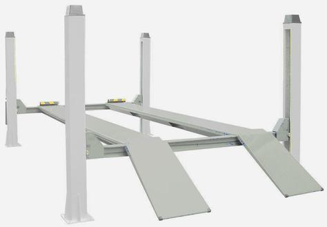 Electrical Four Posts Lift (3.5F)