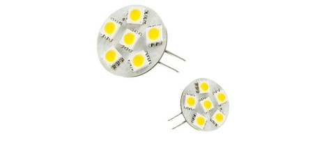 Led auto lamp G4-6SMD-5050-3chips