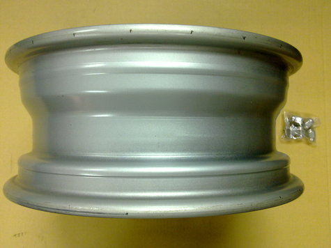 WHEEL TYRE RIM STEEL 16""