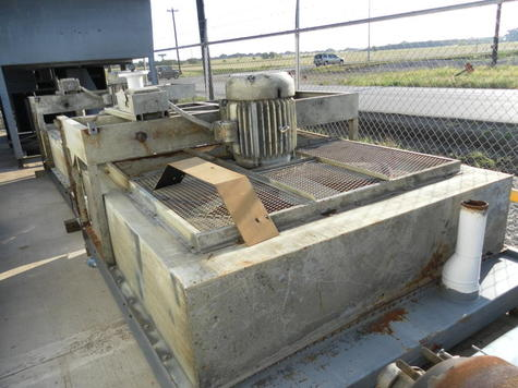 Radiator removed from CAT D399 Genset - Item #8814