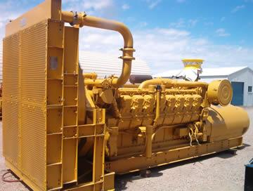 Caterpillar 3516 Industrial Generator Set - Item #6497
