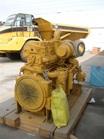 Caterpillar 3406E DIT Industrial Engine - Item #5410