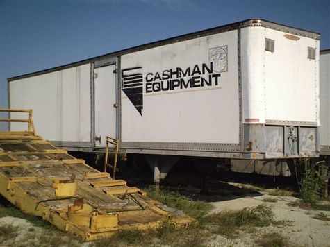 Caterpillar 3512 Industrial Generator Trailer - Item #4553