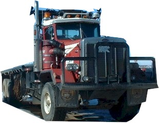 Kenworth bed truck