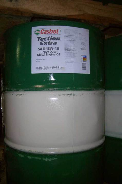 Castrol Tection Extra SAE 15w40 CJ4 in DRUMS