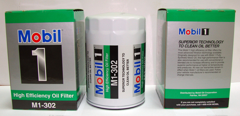 Mobil 1 High Efficiency Oil Filter - M1-302 - PF1218 - GM 25160561