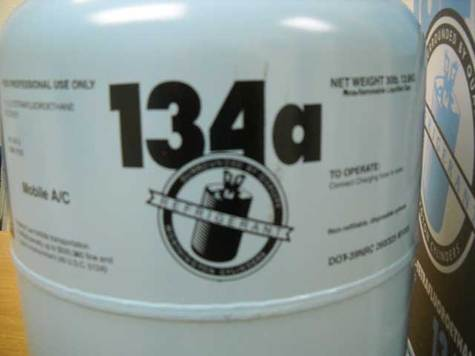 Automotive REFRIGERANT R-134a In Professional Size 30lb (13.6kg) Cylinders