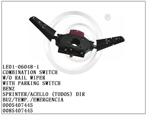 Combination Switch LE01-06048-1 0005407445 for BENZ