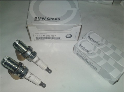 Genuine BMW Spark Plugs 12 12 0 037 607