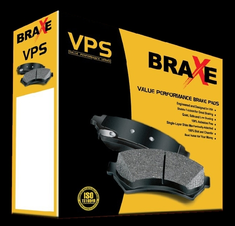 BRAXE- VPS brake pads packing