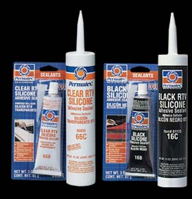 Permatex Silicones and Sealant