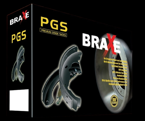 BRAXE-PREMIUM GRADE  brake shoes