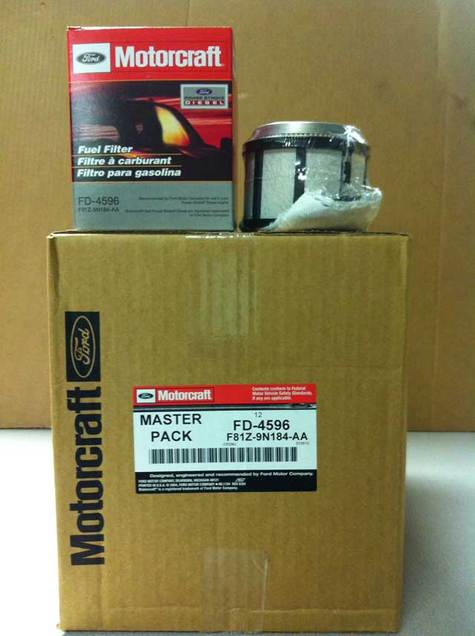 4596 fd fuel filter for an 05 duramax lly fuel line fuel filter motorcraft e-350 diesel fuel-filter- fd-4596