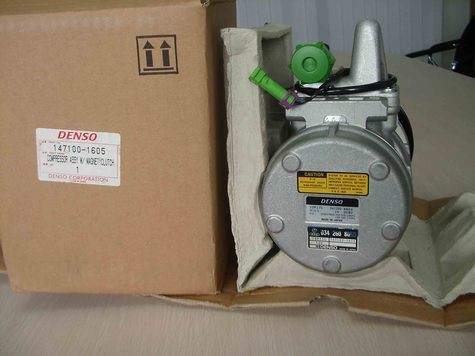 DENSO air conditioning compressor