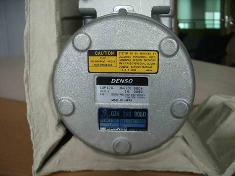 DENSO air conditioning