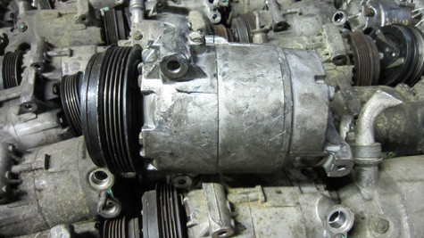 GM AC COMPRESSOR CVC LARGE BODY GREAT CONDITION
