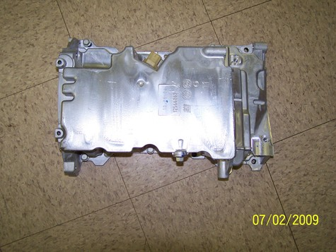 GM aluminum oil pan 196ci./3.2L - 219ci./3.6L V6 2004-2005