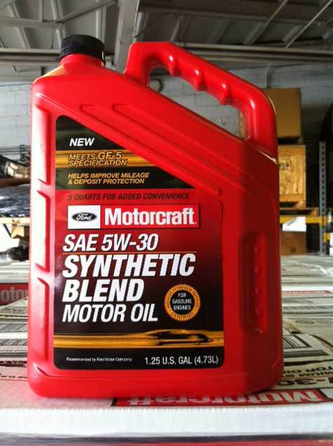 Motorcraft 5w30 Synthetic