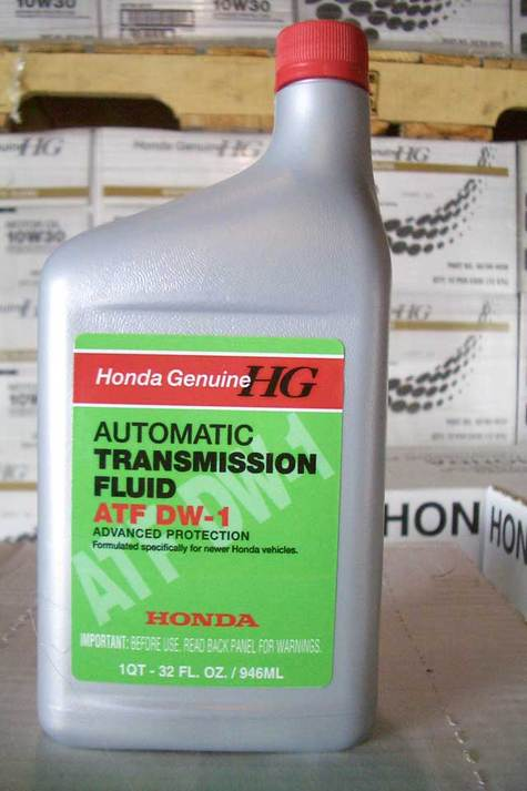 HONDA, ATF DW-1 (Automatic Transmission Fluid)