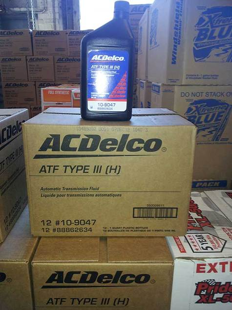 AcDelco ATF DEXRON III (Automatic Transmission Fluid)