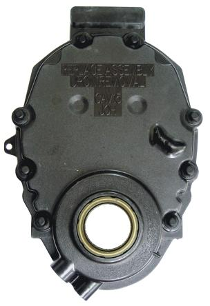 GM timing cover w/o sensor hole: 305ci./350ci. - 5.0L/5.7L - V8: 1996-up