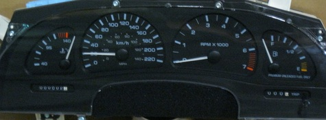 GM/Oldsmobile Aurora dash instrument cluster 1999