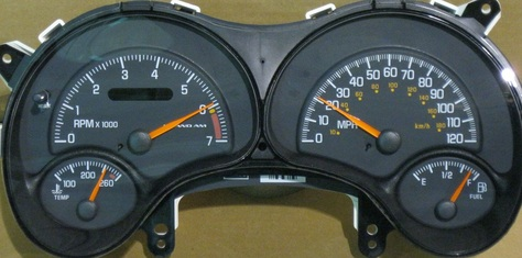 Ponitac Grand Am dash cluster 1999