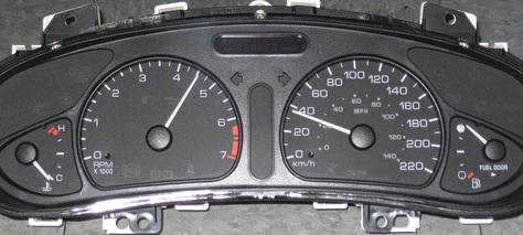 Gm  Oldsmobile Alero Dash Cluster  773