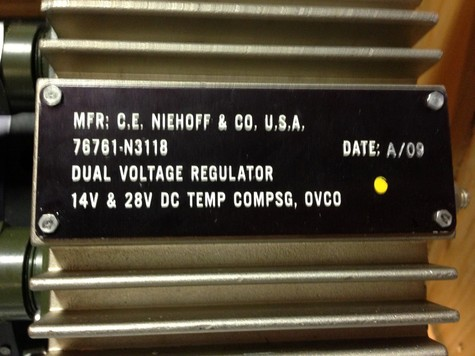 Brand New C.E.Niehoff 28V 400 Amp Alternators