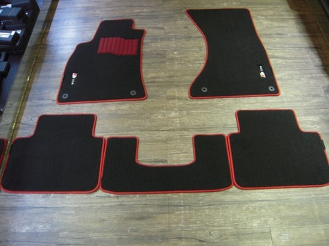 Car mat for European cars