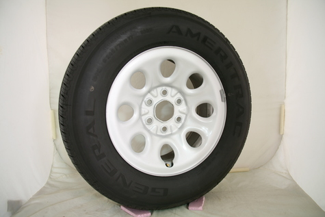 05-12 Chevy Silverado 17x7 Wheels with Tires